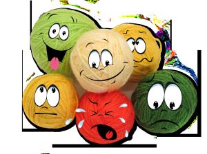 Когда клубочки оживают блог вязаной игрушки БагираЛюМур