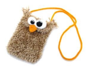 вязаные игрушки чехол для телефона