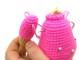 Нитяное крепление рук лап вязаной игрушки